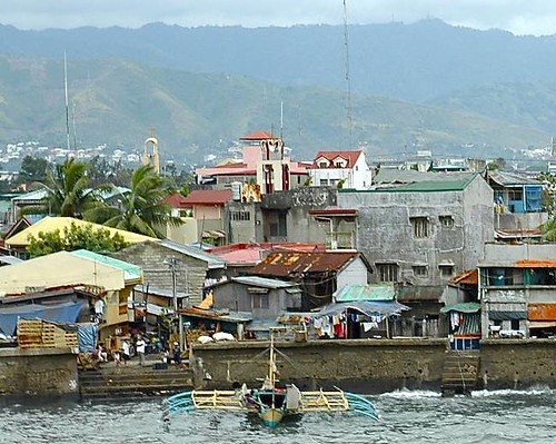 Shoreline of Cebu, Philippines