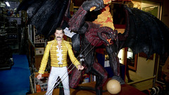 Freddy Mercury and a Balrog