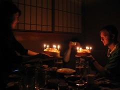 Happy Birthday (andreakw) Tags: birthday friends party cake japan   izakaya kansai  fujiya  nishinomia