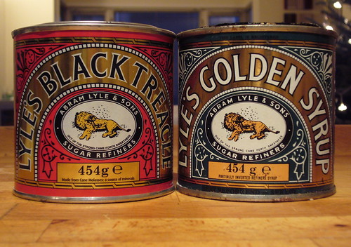 The branding and the tins of Tate & Lyle's black treacle and golden syrup is an absolute classic. The design is over 120 years old so I hope some bright