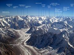 """our"" glaciers in north pakistan (tango 48) Tags: pakistan mountains glaciers concordia k2 northernareas hindukush mountainering siachen kundus boltoro gasherbroom"