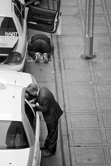 Afternoon Prayer (Armando Martinez) Tags: street urban blackandwhite bw colorado taxi prayer denver dsp dspbook