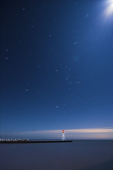 IMGP5262-01 (Bob West) Tags: longexposure nightphotography fullmoon nightshots startrails bobwest eastlighthouseerieau