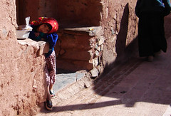 Little girl in Abyaneh