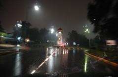 Ahmadi ~ City Of Dreams (bO_s3ayD) Tags: clock roundabout bigben rainy kuwait ahmadi