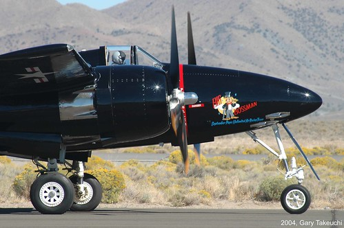 Warbird picture - F7F Reno Air Races