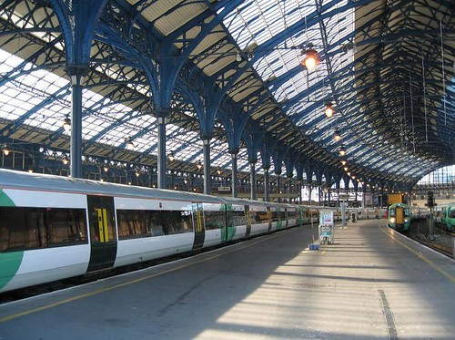 Brighton Station platform & roof