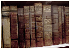 antique books at oxford (neonlike) Tags: england ancient antique books historic historical oxfordshire oxfordcollege utatacollection