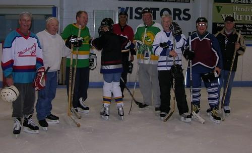 Old Timer's Hockey in Virgil