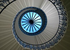 Tulip Staircase, Queen's House, Greenwich, London, England (Alaskan Dude) Tags: uk travel england london greenwich staircases queenshouse tulipstaircase 5photosaday