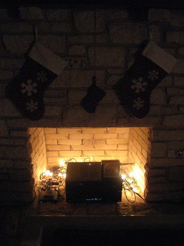 fireplace lights