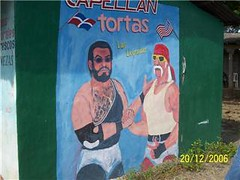 Letrero de Jack Veneno y Hulk Hogan un Nagua