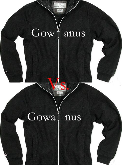 Gow Anus vs Gowa Nus