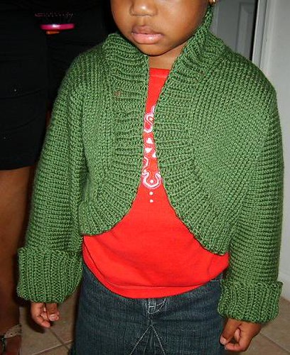 Anissa in her Cardi