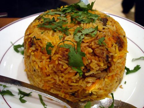 Meat Biryani