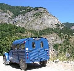 1957 AZU in Italy (azu250) Tags: italy citroen bleu 2cv 1957 besteleend azu gendarmerie camionette