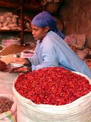 Color, olor, sabor... en Merkato (Addis Abeba)