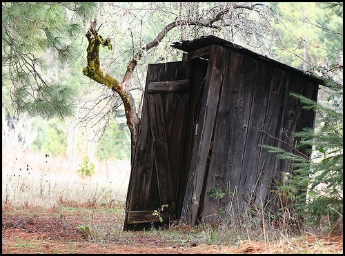 Not Artsy Outhouse