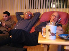 "relaxing after turkey dinner • <a style=""font-size:0.8em;"" href=""http://www.flickr.com/photos/70272381@N00/345005768/"" target=""_blank"">View on Flickr</a>"
