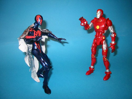 Spider-man and Iron Lad