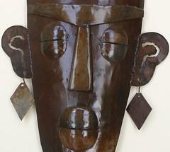 Metal Face 2 (Michael Struwig) Tags: house face metal bronze amazing good decor earing