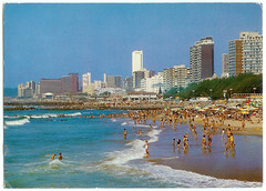 Durban North Beach, date unknown (mallix) Tags: old holiday vintage southafrica postcard memories memory era change 1970 1960s worldcup 1970s apartheid 2010 1960 durban soccerworldcup worldcup2010 northbeachcapetown fifa2010