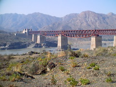 old attock bridge attock end (tango 48) Tags: bridge pakistan history architecture punjab nwfp attock