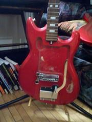 Teisco Spectrum (prokiev) Tags: guitar teisco