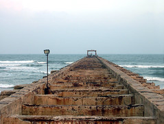 Thalankuppam-broken-pier2 (Ravages) Tags: world life street city travel sea urban india beach home water modern river lights coast asia hometown contemporary candid madras streetphotography photojournalism coastal slice shore record metropolis moment chennai indianarchive tamil metropolitan journalism tamilnadu global bayofbengal indianness coastalcity chennapattanam thalankuppam  visitindia visitchennai pattinam chennaipattanam keezhkadal