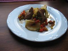 Foto del plato de parfait