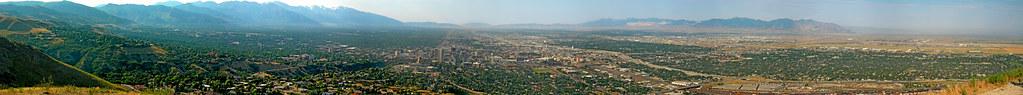 Salt Lake Valley Panorama