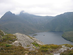 Cradle mountain in summer