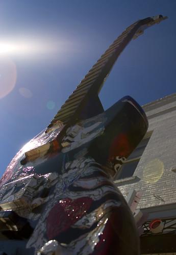 Sunburst Guitar