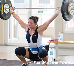 WOOLFOLK Natalie USA (Rob Macklem) Tags: world 2006 strength olympic weightlifting championships domingo santo