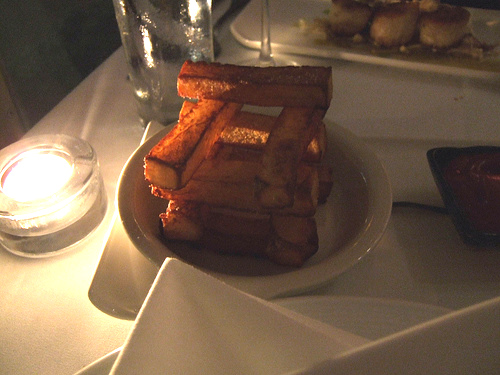 Restaurant L (Boston) - The Fancy Bread Structure