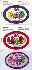 Pals Club Patches