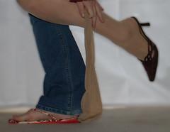 365-26 Getting Rid of All My Pantyhose (TXAlleKat) Tags: feet shoes toes hose explore sp flipflops pantyhose 365days interestingness202 gettingridofpantyhose 2sidesofme 365explored txallekat