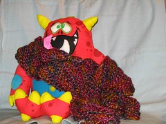 Red Scarf 2007 with DoodleMonster