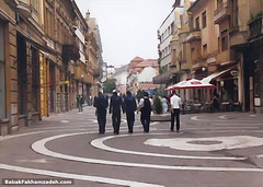 Oradea's main shopping street