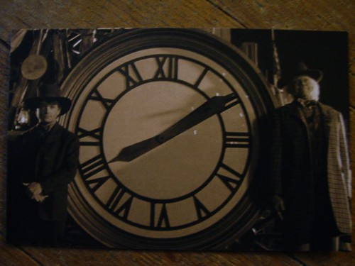 Foto reloj volver al futuro 3