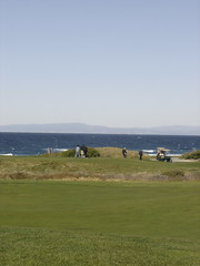 Golf by Pebble Beach