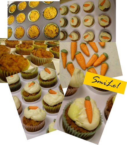 ... kitchen: carrot cupcakes & white chocolate cream cheese frosting