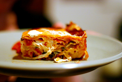 seven-layer lasagne