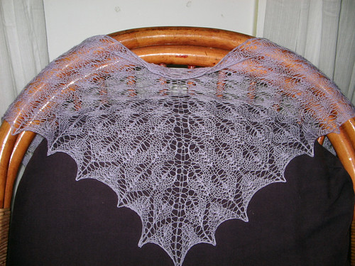 Shetland Triangle Shawl from Wrap Style