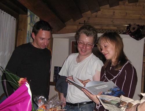 Alex, Markus und Bine