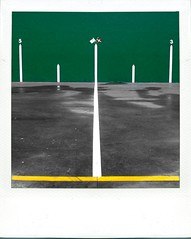 JaiAlai (Yosigo) Tags: white color green lines yellow composition polaroid colourful jai euskalherria alai composicion fronton pasajes
