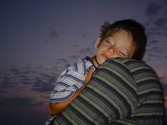 Dream (Vjekoslav1) Tags: sea sky night clouds island san child nightshot sleep father dream croatia son more sin fatherandson adriatic hrvatska no otok jadran nebo juraj rab dijete oblaci jerolim abigfave otac