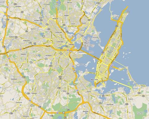 Manhattan on Vacation - Boston, Massachusetts