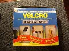 the velcro!