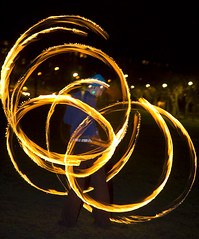 Burning Rings of Fire (Kenny Maths) Tags: scotland edinburgh beltane themeadows firespinners interestingness187 kennymathieson